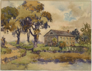 """The Methodist Church at Beaver Dams (Thorold, Ontario)"" by J.W. Cotton (1869-31)"
