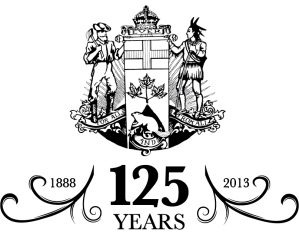 Ontario Historical Society 125th anniversary logo