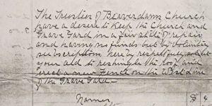 1923 request for volunteers