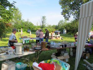 First Annual Beavedams Church Yard Sale 2013